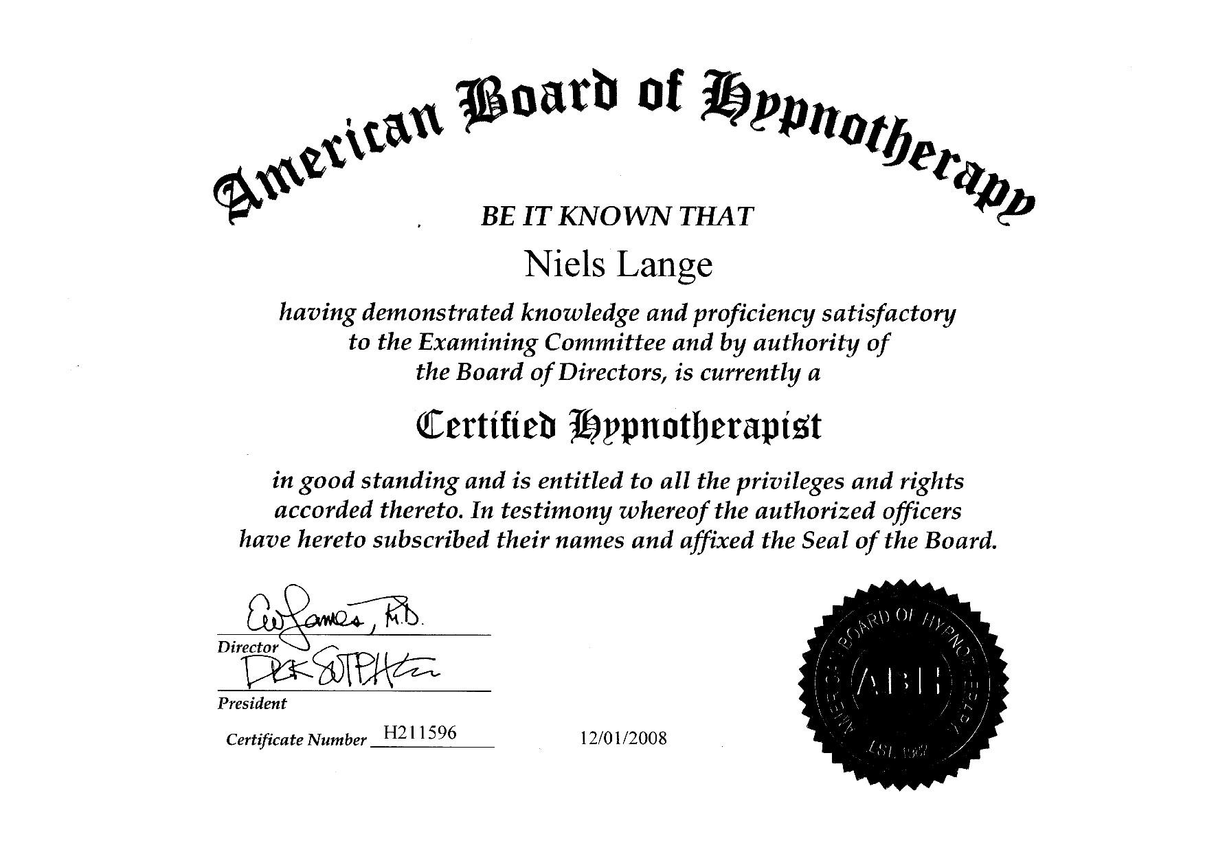 ABH-Zertifikat