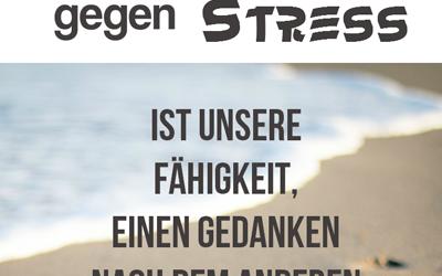Stress bekämpfen